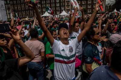 世足賽》墨國球迷狂歡引起地震? 國家地震局出面否認