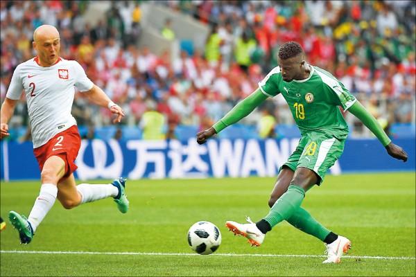波蘭「搞烏龍」 塞內加爾爆冷2:1贏球