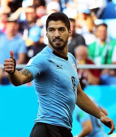 世足賽Live》蘇阿雷茲百場進球 烏拉圭1:0擊敗沙烏地阿拉伯
