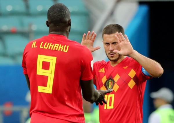 世足賽》盧卡庫梅開二度  阿扎爾透露中場時「溝通」奏效