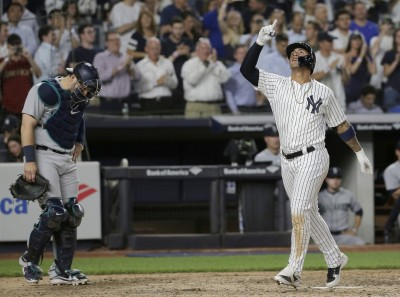 MLB》70場比賽敲118轟 洋基聯盟史上第二狂