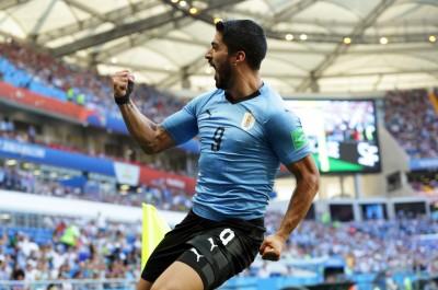 世足賽》國際賽百場里程碑 蘇阿雷茲致勝進球助烏拉圭晉16強