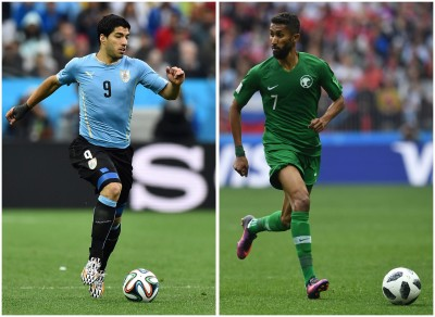 世足賽Live》烏拉圭雙箭頭拚進球 沙烏地阿拉伯拒絕被淘汰