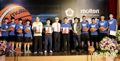 籃球》Molten奧運指定用球與籃協簽約 未來國手不用適應球了!