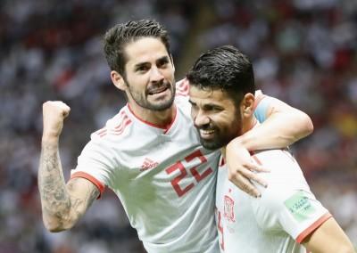 世足賽》嚇傻!運氣佳打破伊朗「鐵桶陣」 西班牙本屆首勝到手