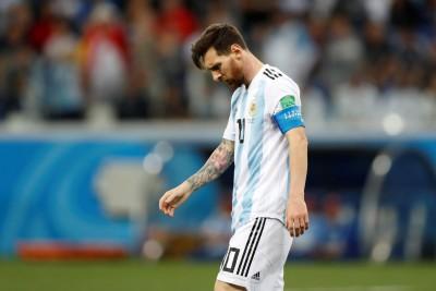世足賽》輸球後的此一舉措 梅西遭批有失運動家風範