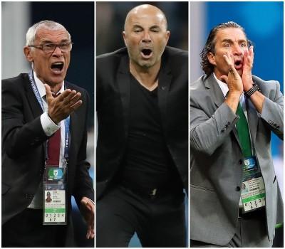 世足賽》好慘!阿根廷籍教頭一勝難求 戰績1和8敗