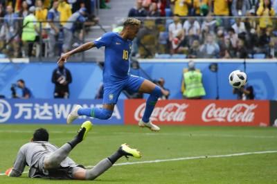 世足賽》不到6分鐘連進2球  巴西傷停補時射垮哥斯大黎加