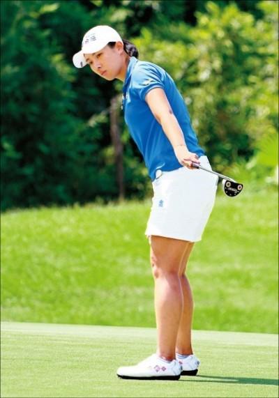 日本LPGA》Earth Mondahmin盃高球賽第二回合  姚宣榆並列第10