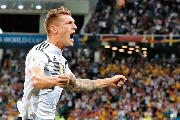 克羅斯絕殺 救了德國