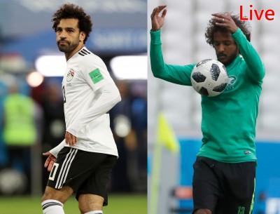 世足賽Live》面子之爭 埃及 V.S. 沙烏地阿拉伯