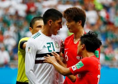 世足賽》被犯規卻遭裁判無視 南韓足協去函向FIFA投訴
