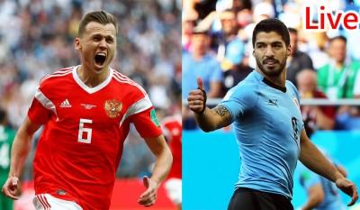 世足賽Live》爭奪分組第一 俄羅斯 V.S. 烏拉圭
