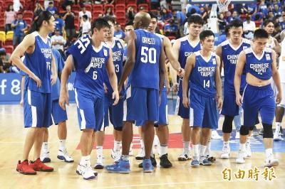 世界盃資格賽》台灣男籃不敵菲律賓 下週一對日本非贏不可