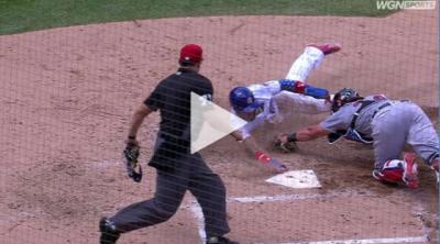MLB》巴耶茲盗本壘神技太狂 小熊總仔 :百看不厭(影音)