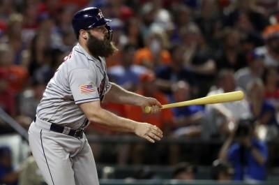 MLB》蓋提斯致勝犧飛 太空人延長賽力退遊騎兵