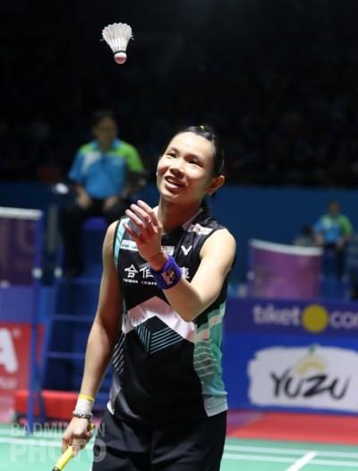 印尼公開賽》戴資穎27連勝平紀錄 晉級女單4強