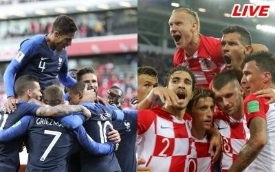 世足賽Live》法國4:2力壓克羅埃西亞 勇奪隊史第二座冠軍