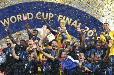 世足賽》法國4:2擊敗克羅埃西亞 勇奪隊史20年來第二冠