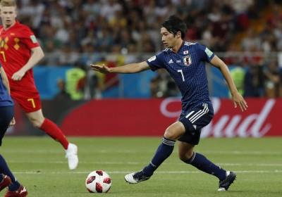 世足賽》輸了世界盃還有紅顏 日本國腳與月薪嬌妻女星婚了