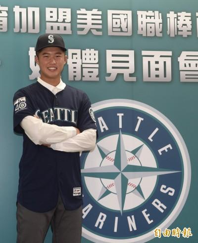 MLB》張景淯加盟水手展開旅美生涯 語言是最大優勢