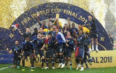世足賽》法國奪隊史第二座大力神盃 奪冠經典時刻都在這(圖輯)
