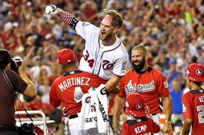 MLB》不負眾望! 地主哈波勇奪全壘打大賽冠軍(影音)