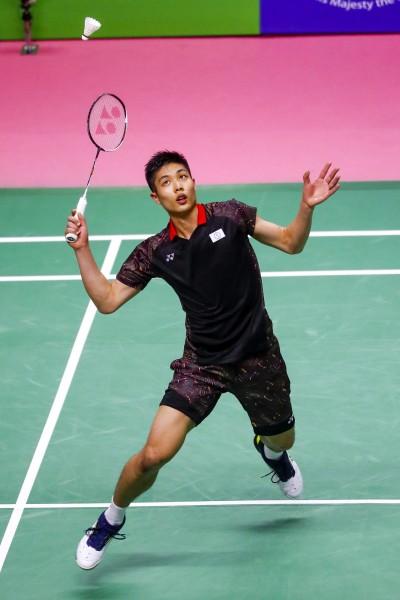 羽球》新加坡羽球公開賽 周天成首輪告捷挺進16強