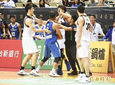 瓊斯盃》菲律賓、日本第四節最後差點打架 菲國6分勝出