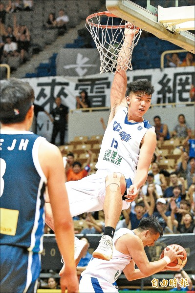 瓊斯盃》未滿20歲「曾、豪」 打出台灣希望