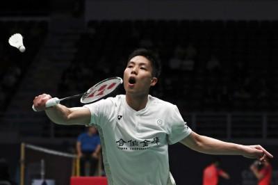 羽球》新加坡羽球賽  周天成直落二晉級8強
