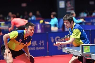 桌球》南韓桌球公開賽 陳建安男雙、混雙8強門票全到手