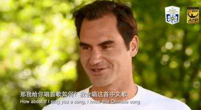 網球》中文一級棒!費德爾化身歌手唱「生日快樂歌」(影音)