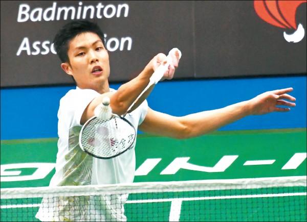 新加坡羽球公開賽》周天成、許仁豪 預約男單金包銀