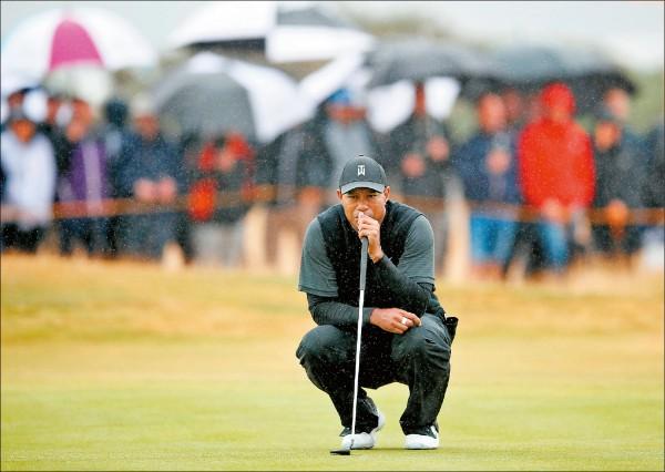 英國高爾夫公開賽/伍茲71桿開場 暌違4年的好