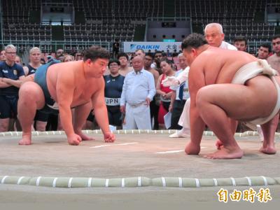 世界盃相撲錦標賽 桃園巨蛋登場