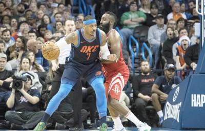 NBA》甜瓜有望加盟火箭 哈登:很棒的補強