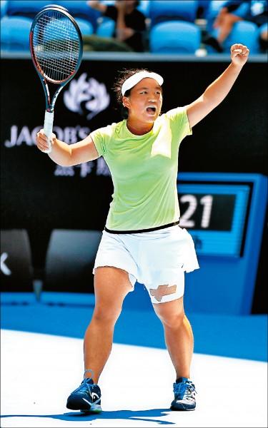 梁恩碩逆轉秀 首闖WTA會內賽
