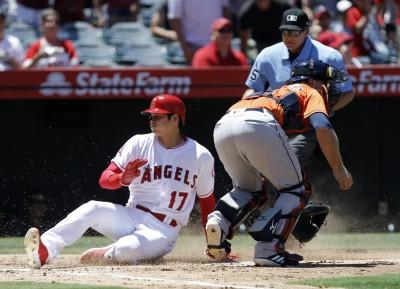 MLB》天使14分轟垮太空人 大谷又現超驚人跑速