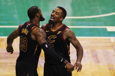 NBA》詹皇轉戰湖人 J.R.史密斯沉寂後發文:「謝謝你,兄弟」