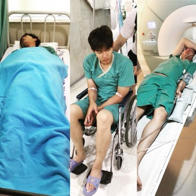 韓職》王維中曝光病房照引發關切 亞運出賽打問號