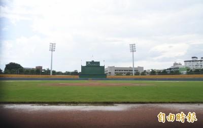 中職》凌晨大雨積水未退 屏東二軍比賽取消