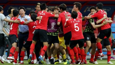足球》世足賽爆冷贏德國 南韓球員每人抱回千萬獎金