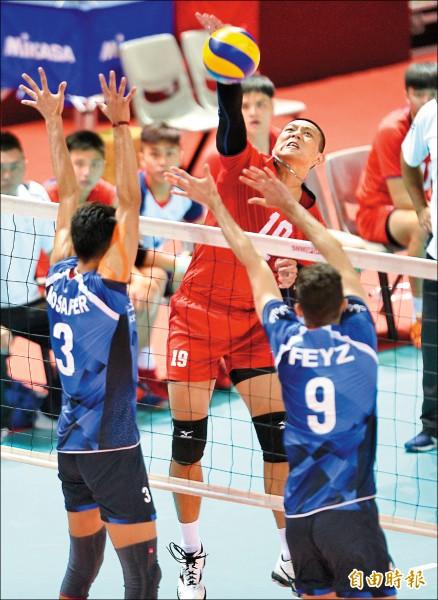 亞洲盃男排》輸給伊朗「高」招 教練仍打90分