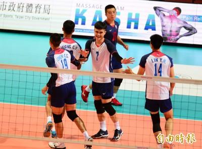 亞洲盃台灣男排對決泰國 今日賽事預告與轉播