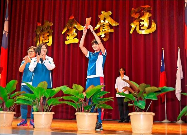 讓世界看見台灣 「亞運女孩」霸宣言