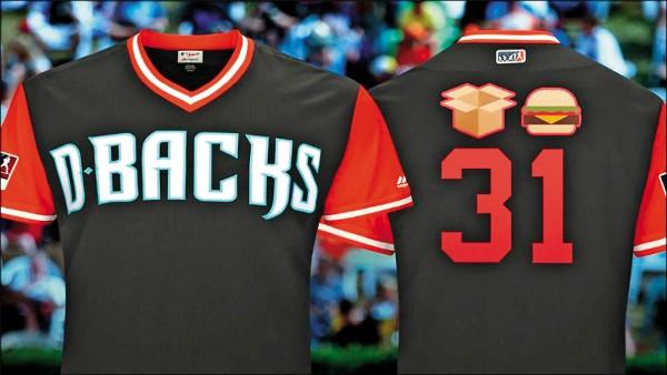 大聯盟綽號球衣 表情符號拼姓氏