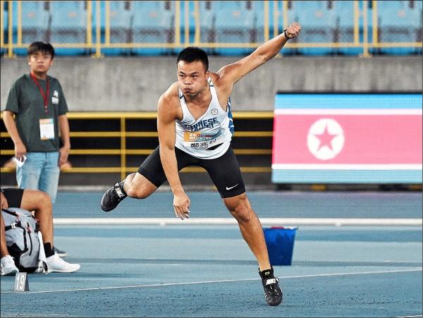 亞運台灣隊奪牌熱點/31人田徑大軍 許一個24年金牌夢