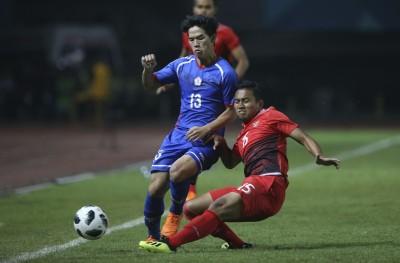 亞運》只踢了半場好球 台灣男足0:4不敵地主印尼