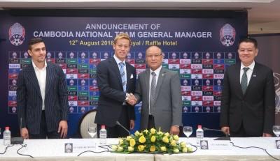 足球》驚!日本國腳本田圭佑 接任柬埔寨國家隊主帥兼領隊